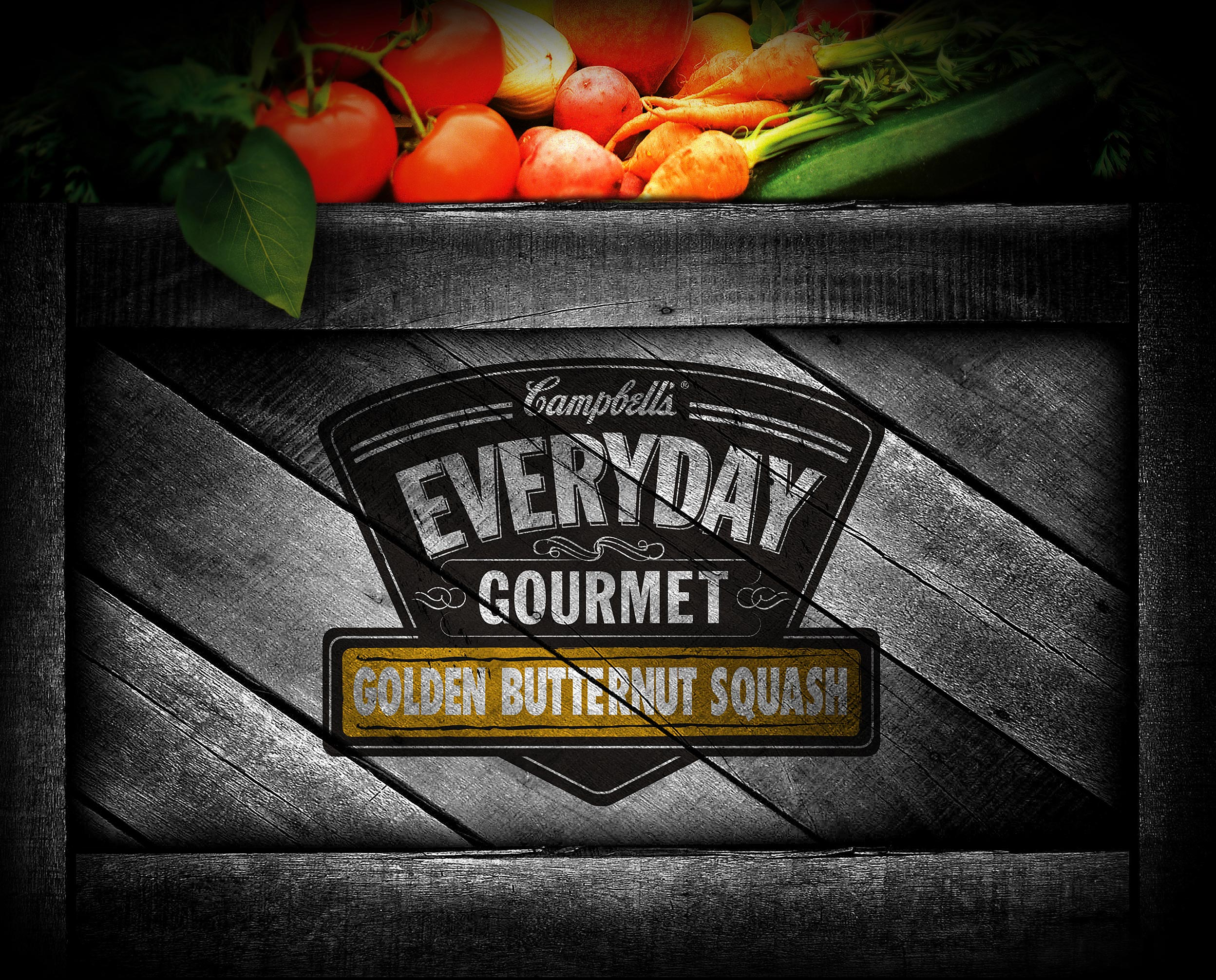 Campbell's Every Day Gourmet Label Design