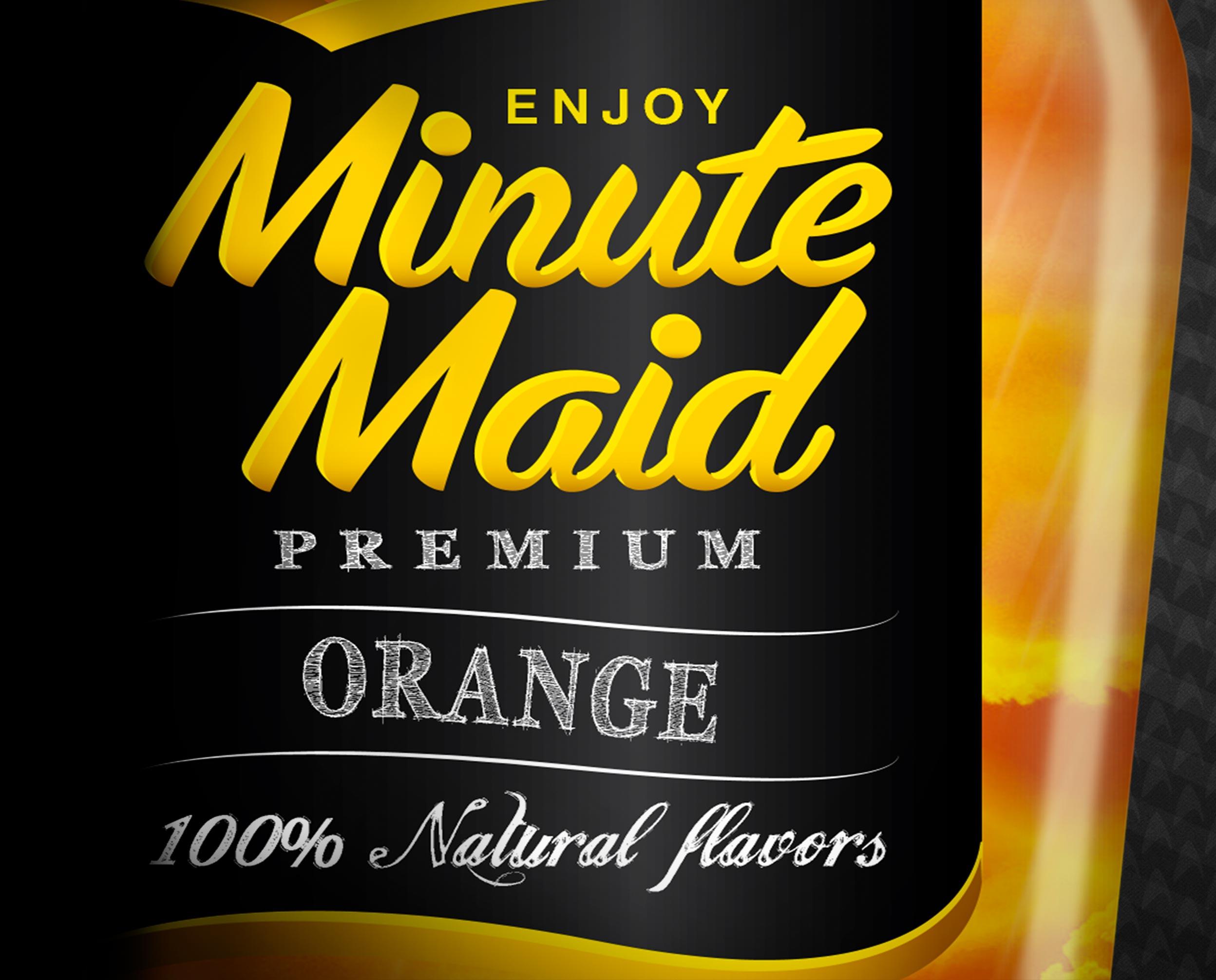 Minute Maid premium fruit drinks
