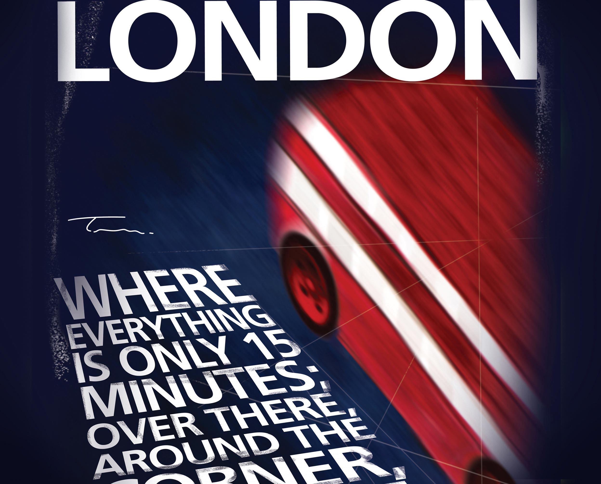 London travel print